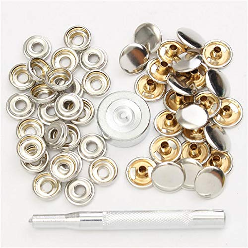 Motivated Snap Fastener Button Screw Studs Kit For Boat Canvas Fabric Home Improvement Boat Parts & Accessories