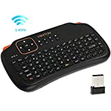 Generic Viboton S1 All-in-One 2.4G Wireless Keyboard Air Mouse Remote Controller With Touchpad For Computer Projector TV Box Tablet PC