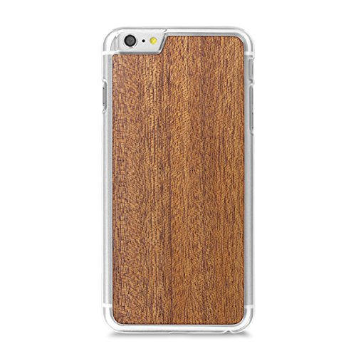 Cover-Up WoodBack Echtholz Transparent Schutzhülle für Apple iPhone 6 / 6s Plus Mahogani - Mahogany
