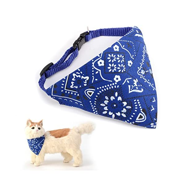 Adjustable-Bandanas-Collars-Triangle-Scarf-Scarves-Neckerchief-for-Dogs-Puppy-Doggie-Cat-Neckerchief-Tag