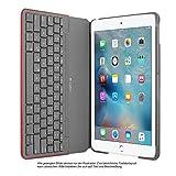 Logitech Leinwand Tastatur Schutzhülle für iPad Air 2–Mars Rot Orange–Swiss QWERTZ–920–007276(Nicht geeignet für iPad Air 1)