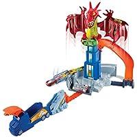 Hot Wheels Hotwheels Monster High Juego Creativo Dragon Attack, (Mattel DWL04)
