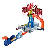 Mattel Hot Wheels DWL04 Drachen-Attacke Spielset