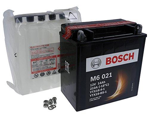 Batterie BOSCH YTX16-BS-1 12 Volt[ inkl.7.50 EUR Batteriepfand ]