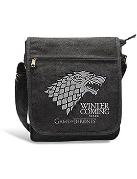 Game of Thrones - TV Serien Messenger Bag Umhängetasche - Stark - Winter Is Coming