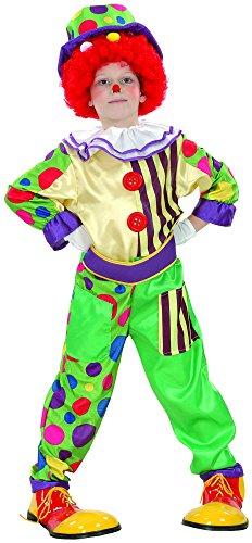 Costume clown da bambino 10/12 anni (140/152)