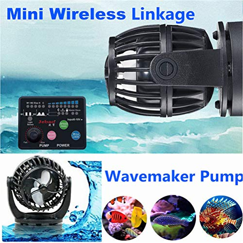 Laecabv Aquarium Wave Maker mit Smart Controller Aquarium Wasser Pumpe Aquarium Strömungspumpe Wavemaker Pumpensteuerung (SW2)