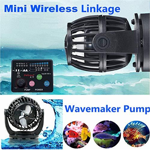Laecabv Aquarium Flow Pump Wave Maker 360 degrés Circulation...