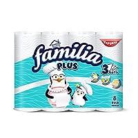 Familia Plus Havlu 8'li 1 Paket (1 x 8 Adet)