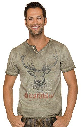 Stockerpoint Trachten T-Shirt Pascal Sand, L