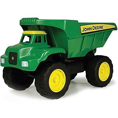 """Tomy Kipplaster """"John Deere Big Scoop"""" in grün - hochwertiges Kinderspielzeug aus robustem Kunststoff für den Sandkasten - ab 3 Jahre von John Deere"""