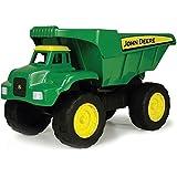 """TOMY Kipplaster """"John Deere Big Scoop"""" in grün - hochwertiges Kinderspielzeug aus robustem Kunststoff für den Sandkasten - ab 3 Jahre"""