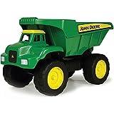 John Deere TOMY Kipplaster Big Scoop in grün - hochwertiges Kinderspielzeug aus robustem Kunststoff für den Sandkasten - ab 3 Jahre