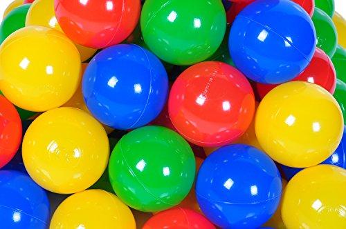 Knorrtoys 56789 – Bälleset – 100 bunte Plastikbälle - 3