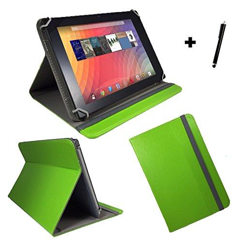 Vodafone Tab Prime 6 / 9,6 zoll 24,38 cm Tablet Pc Tasche + Stylus Touch Pen - 9,6 Zoll Grün 1A