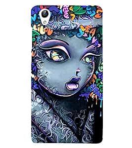 HiFi Designer Phone Back Case Cover Vivo Y51 :: VivoY51L :: Vivo Y51L Light up your Selfies ( Cute Small Girl Colorful Pattern Design Studies )