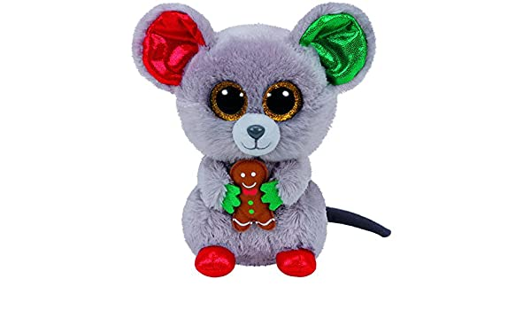 65360ab6159 Buy TY Beanie Boo Plush - Mac the Mouse 15cm (Christmas Exclusive) Online  at Low Prices in India - Amazon.in