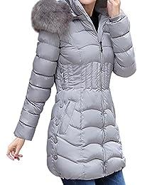 KaloryWee Heißer Damen Winterjacke Daunenjacke Winter Jacke Mantel Parka  Graben Warme Lange… ab9d471f5d
