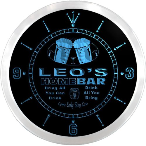 ncp0168-b-leos-home-bar-beer-pub-led-neon-sign-wall-clock