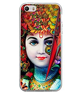 Lord Krishna 2D Hard Polycarbonate Designer Back Case Cover for Apple iPhone 5