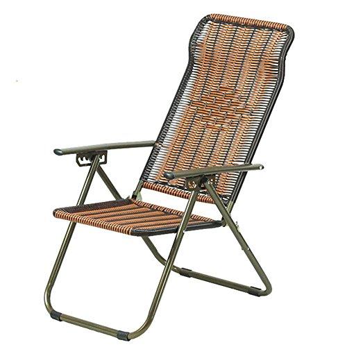 QIDI Chaise Longue Pliable Simple Bambou 92 * 55cm