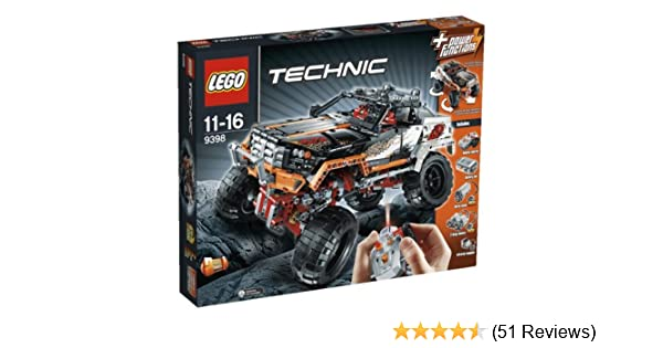 Lego Technic 9398 4x4 Crawler Lego Technic Amazon Toys Games