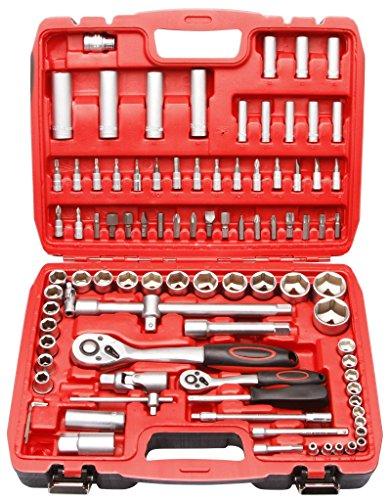Coffret outils clés à cliquets speciale Garagiste mécanicien 94 pièces