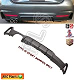 PERFORMANCE M SPORT REAR DIFFUSER EXHAUST VALANCE 12+