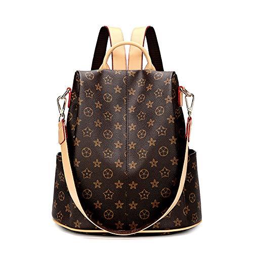 Ldyia Einbruchhemmender Rucksack für Damen weibliche Mode große Kapazität Computerrucksack Rucksack Mamabeutel Wickeltasche, geeignet für Urlaubsreisen einkaufen