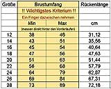 Hundejacke Warm, Innen mit Fleece, Hochwertiges Material, Atmungsaktiv und Wasserabweisend Hundemantel (Größe 14) - 3