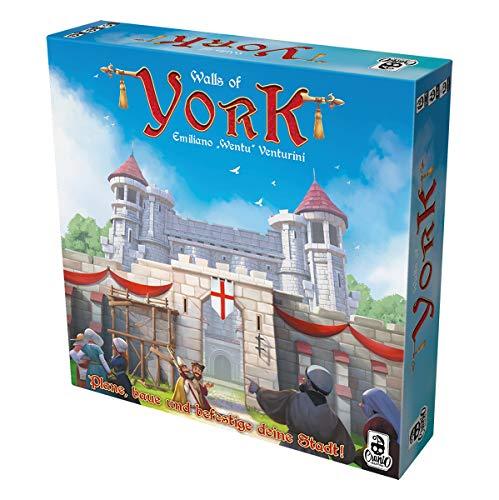 Cranio Creations CRCD0016 Walls of York - Juego de Mesa