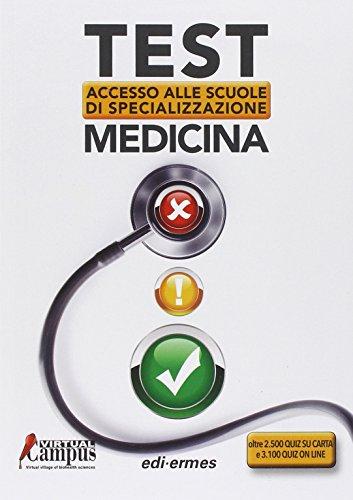 Test di accesso alle scuole di specializzazione medicina