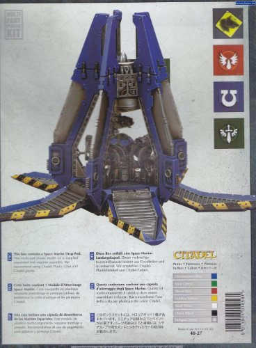 Warhammer 48-27. Capsula de desembarco