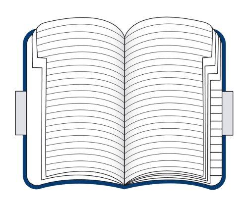 Moleskine Volant Address Book Blue Pocket (Moleskine Srl)