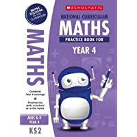 Maths practice book for ages 8-9 (Year 4). Boost success with complete national curriculum coverage (100 Practice Activities)
