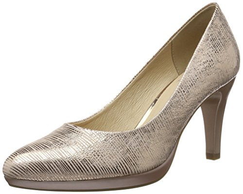 Caprice Damen 22414 Pumps, Pink (ROSE METALLIC), 39