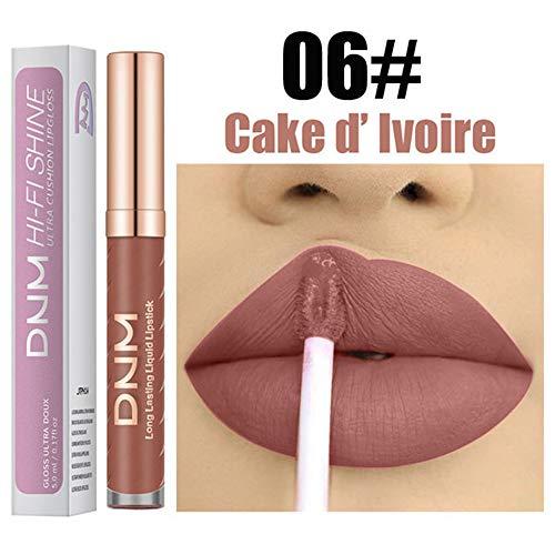Pitashe Matte Lippenstift Lipgloss Wasserdicht Lippe Gloss Long Lasting Moisturizing Lippenstift...