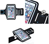 Supercase24 General Mobile GM 8 Jogging Tasche Handy Hülle Sport Armband Schutzhülle Case Fitness