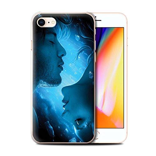 Officiel Elena Dudina Coque / Etui pour Apple iPhone 8 / Luz Sombra Design / Art Amour Collection Diamants congelés