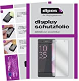 dipos I 6X Schutzfolie klar passend für Sony Xperia XA Folie Displayschutzfolie