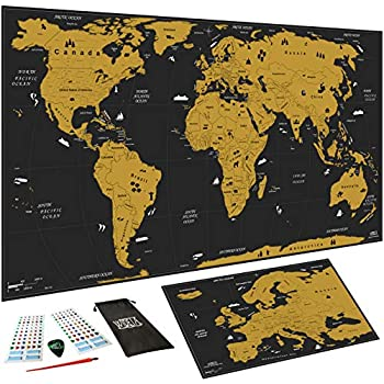 Cartina Mondo Gratta.Accelerare Accidenti Pulire Cartina Da Grattare Amazon Agingtheafricanlion Org