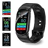 Montre Connectée, Bluetooth Montre Smartwatch Sports Smart Watch Con Carte Caméra...