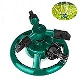 Garten Sprinkler, Lifinsky Wasser Sprinkler, Rasen Sprinkler, 360 Grad 3-Arm drehender Wasser Sprenger, Bewässerungs Basisanlage Bewässerungs Garten Versorgungsmaterialien