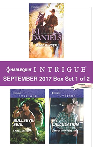 Harlequin Intrigue September 2017 - Box Set 1 of 2: Dead Ringer\Bullseye: SEAL\Ms. Calculation (Ringer-box)