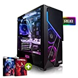 Megaport PC-Gaming Intel Core i7-8700 • GeForce RTX 2070 8GB • 16 GB DDR4 • 480GB SSD • 1TB HDD • Windows 10 • WiFi • pc da gaming pc fisso desktop pc assemblato completo pc completo gaming