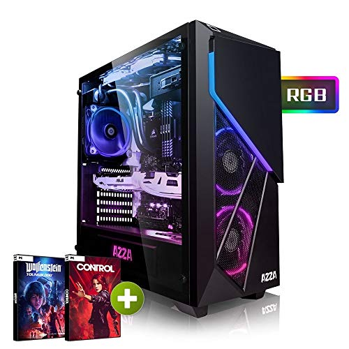 Megaport High End Gaming PC Intel Core i7-8700 • Nvidia GeForce RTX2060 6GB • 480 GB SSD • 16GB DDR4 • Windows 10 • WLAN • Gamer pc Computer Gaming Computer rechner (Computer Gaming Pc)