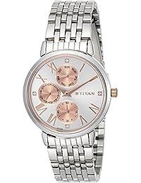 Titan Ladies Neo-Ii Analog Rose Gold Dial Women's Watch-NK2569KM01