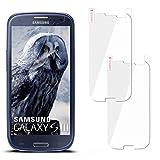 moex 2X Samsung Galaxy S3 | Schutzfolie Klar Display Schutz [Crystal-Clear] Screen Protector Bildschirm Handy-Folie Dünn Displayschutz-Folie für Samsung Galaxy S3 / S III Neo Displayfolie