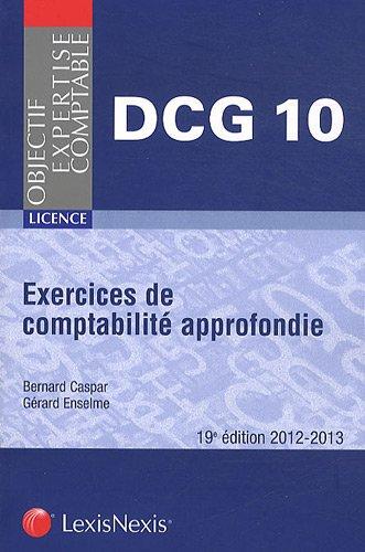 Exercices de comptabilité approfondie 2012-2013