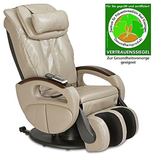 aktivshop Shiatsu-Massagesessel Komfort (Schilf) (Wellness-massage-sessel)